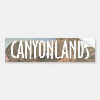 ABH Canyonlands Car Bumper Sticker