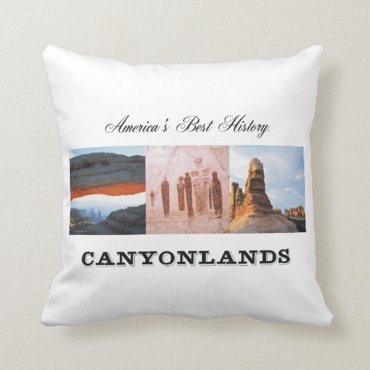 ABH Canyonlands Throw Pillow