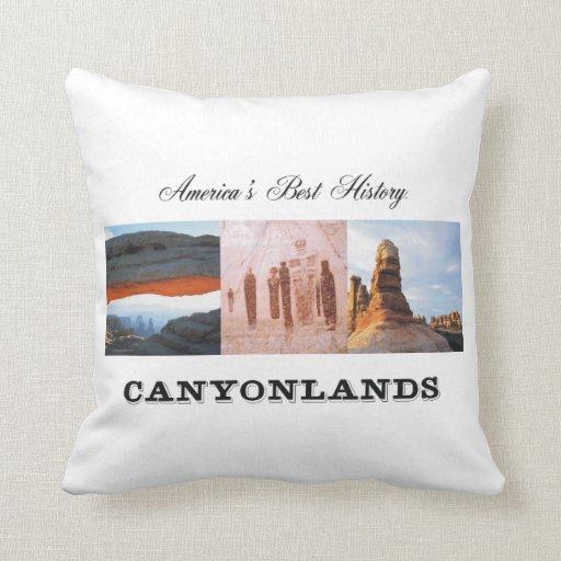 ABH Canyonlands Throw Pillows