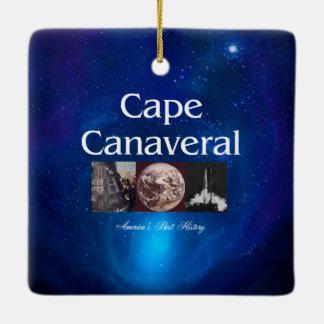 ABH Cape Canaveral Ceramic Ornament