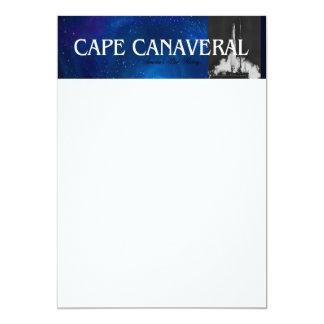 ABH Cape Canaveral 5x7 Paper Invitation Card