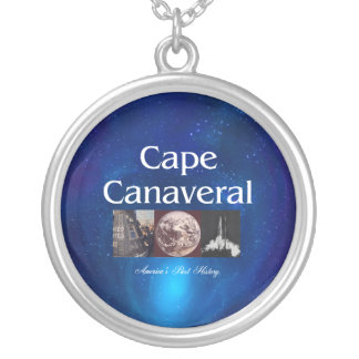 ABH Cape Canaveral Silver Plated Necklace