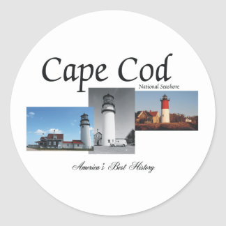 ABH Cape Cod Classic Round Sticker