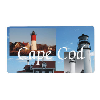 ABH Cape Cod Shipping Labels