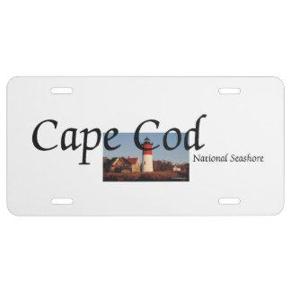 ABH Cape Cod Placa De Matrícula
