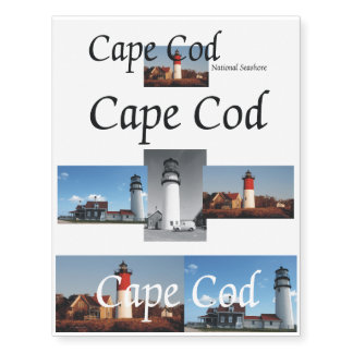 ABH Cape Cod Temporary Tattoos