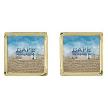ABH Cape Hatteras Gold Cufflinks