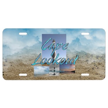 ABH Cape Lookout License Plate