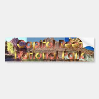 ABH Capitol Reef Car Bumper Sticker