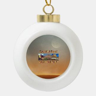 ABH Capitol Reef Ceramic Ball Christmas Ornament