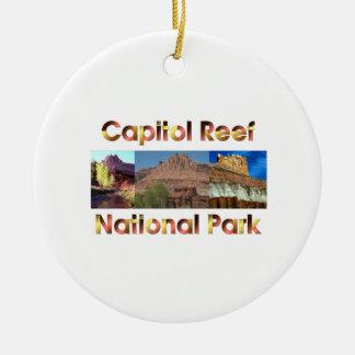 ABH Capitol Reef Ceramic Ornament