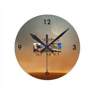 ABH Capitol Reef Round Clock