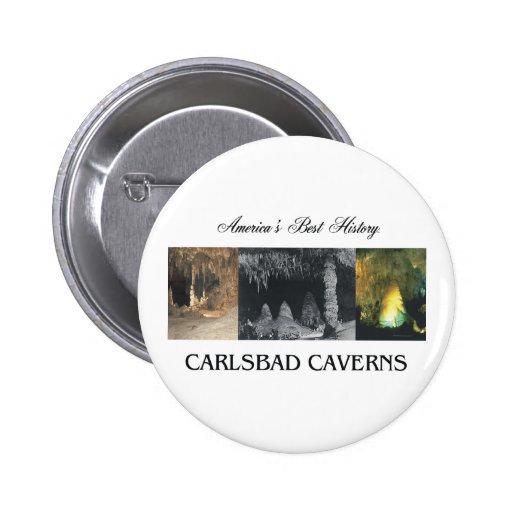 ABH Carlsbad Caverns 2 Inch Round Button