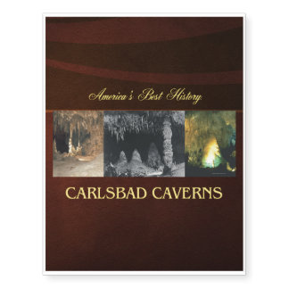 ABH Carlsbad Caverns Temporary Tattoos