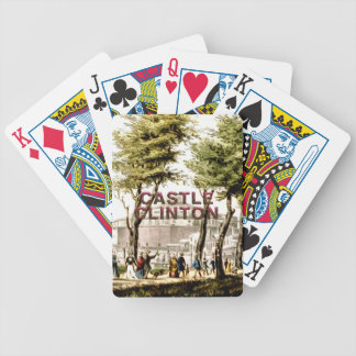 ABH Castle Clinton Bicycle Playing Cards