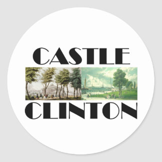 ABH Castle Clinton Classic Round Sticker