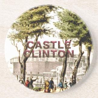 ABH Castle Clinton Drink Coaster