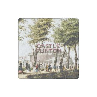 ABH Castle Clinton Stone Magnet