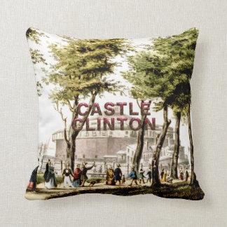 ABH Castle Clinton Throw Pillow