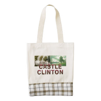 ABH Castle Clinton Zazzle HEART Tote Bag