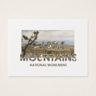 ABH Castle Mountains Business Card