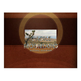 ABH Castle Mountains Postcard