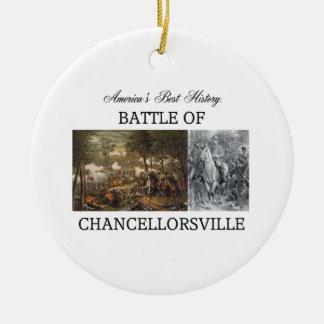 ABH Chancellorsville Ceramic Ornament