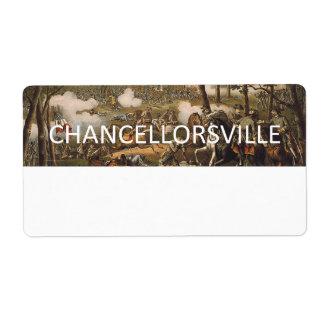 ABH Chancellorsville Label