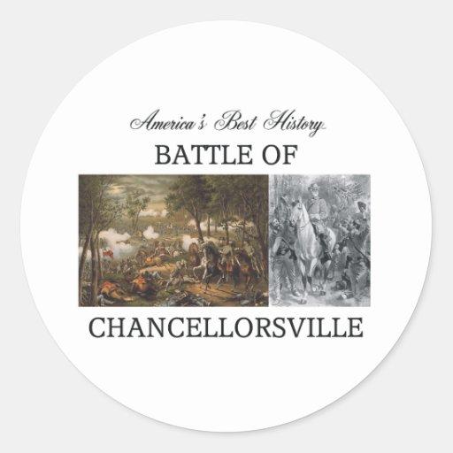 ABH Chancellorsville Pegatinas Redondas