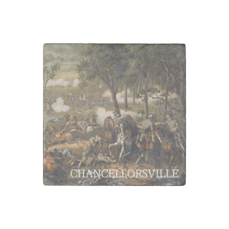 ABH Chancellorsville Stone Magnet