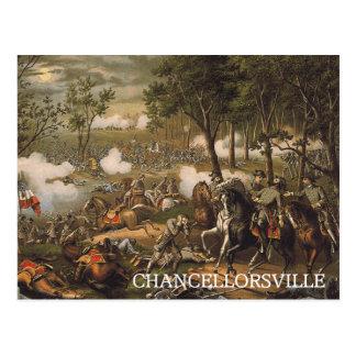 ABH Chancellorsville Tarjeta Postal