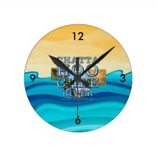 ABH Chattahoochee River Round Clock