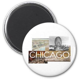 ABH Chicago 2 Inch Round Magnet