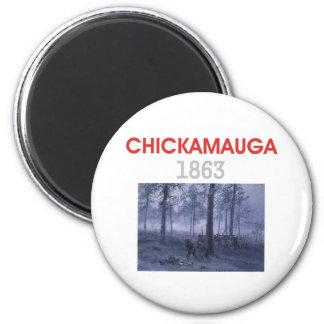 ABH Chickamauga 2 Inch Round Magnet