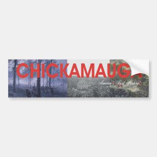 ABH Chickamauga Pegatina Para Auto