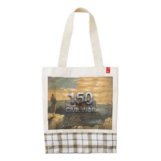 ABH Civil War 150th Anniversary Zazzle HEART Tote Bag