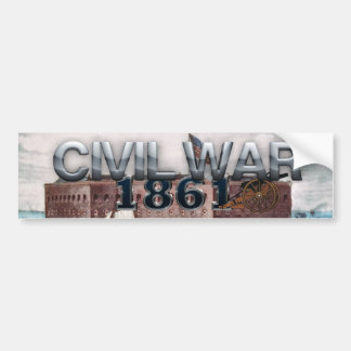 ABH Civil War 1861 Bumper Sticker
