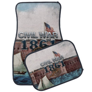 ABH Civil War 1861 Car Floor Mat