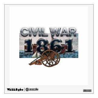 ABH Civil War 1861 Wall Sticker