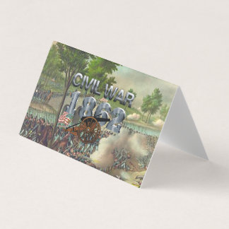 ABH Civil War 1862 Business Card