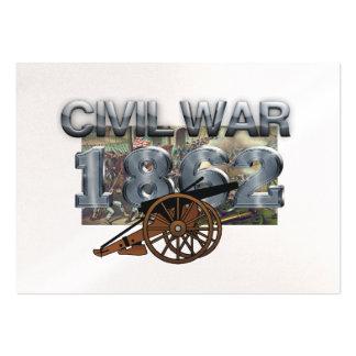 ABH Civil War 1862 Large Business Card