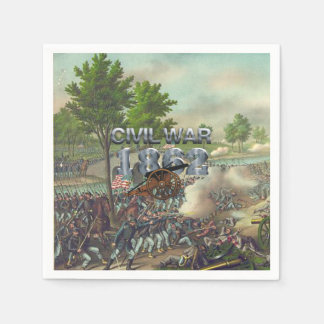 ABH Civil War 1862 Paper Napkin