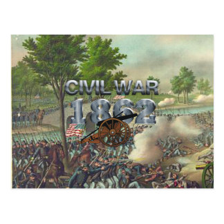 ABH Civil War 1862 Postcard