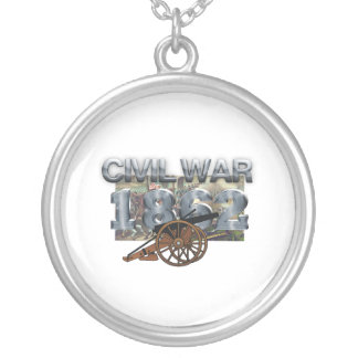 ABH Civil War 1862 Round Pendant Necklace