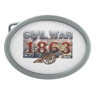 ABH Civil War 1863 Belt Buckle