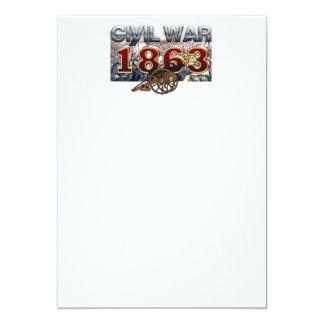 ABH Civil War 1863 Card