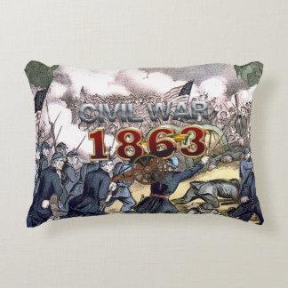 ABH Civil War 1863 Decorative Pillow