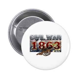 ABH Civil War 1863 Pinback Button