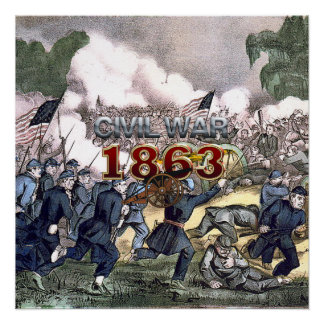 ABH Civil War 1863 Poster