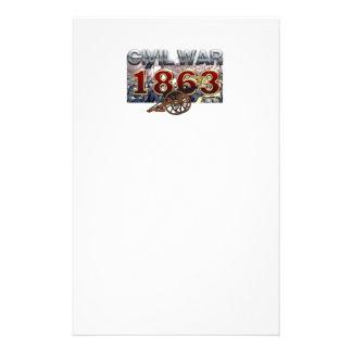 ABH Civil War 1863 Stationery